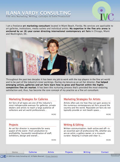 Ilana Vardy Consulting: Home Page